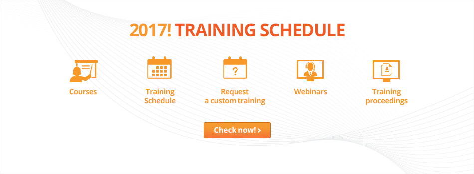 Training schedule for 2017!