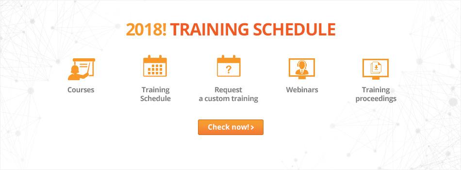 World Wide ESI Training Schedule