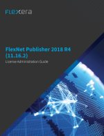 FlexNet Publisher 2018 R4 License Administration Guide