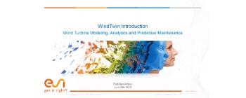 Wind Farms Health Monitoring and Prognostic