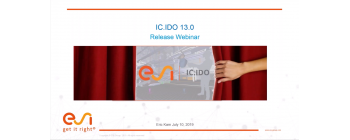 Introduction to ESI IC.IDO 13.0