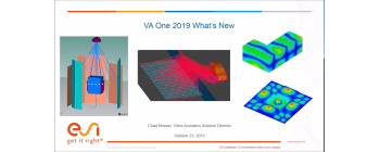 VA One 2019 - What's New