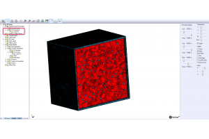 Visualize acoustic/solid mesh in VA One