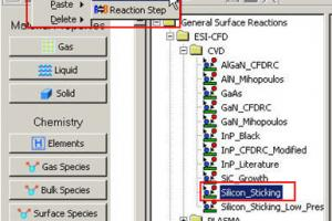 Database Manager: ESI-CFD, Local, and modelname.DTF Folders