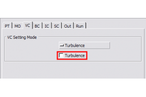Turbulence Solution on a Volume-by-Volume basis