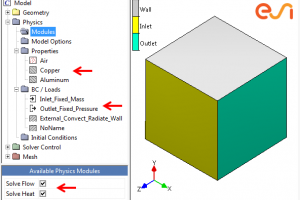 Using a template CDL file for quick case set up in CFD-CADalyzer