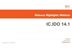 What's new IC.IDO 14.1
