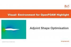 Visual-Environment Highlight of Visual-CFD: Adjoint Optimisation