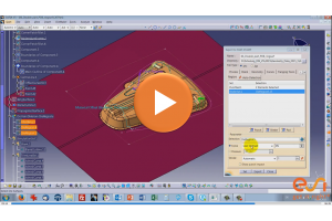 PAM-DIEMAKER for CATIA V5 2015 - Getting started in VIDEOS