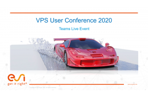 VPS User Conference 2020