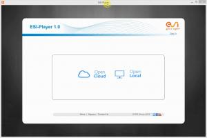 ESI Player 1.0 - New Update