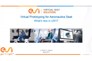 Virtual Seat Solution: What's new in v2017 for Aeronautics Industry