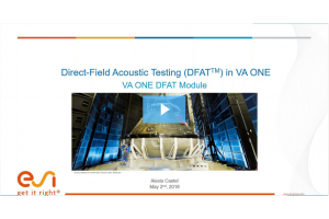 Virtual DFAT (Diffuse Field Acoustic Testing) Design and Evaluation for Launch Vehicle Qualification