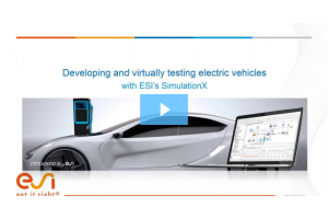 Developing and Virtually testing Electric Vehicles using System Modeling
