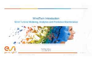 Wind Farms Health Monitoring and Prognostic