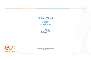 Deploy Algorithms on Scilab Cloud