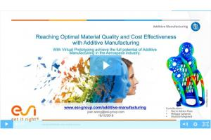 Reaching Optimal Material Quality and Cost Effectiveness with Additive Manufacturing
