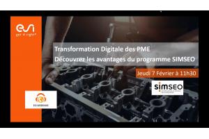 Transformation Digitale des PME, découvrez les avantages du programme SIMSEO