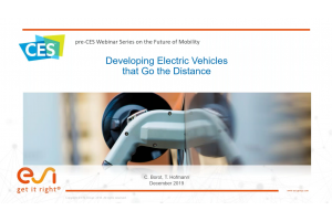 Developing Electric Vehicles that Go the Distance