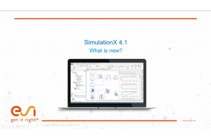 SimulationX 4.1: What is new?
