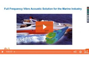 Full Frequency Vibro Acoustic Solution for Marine