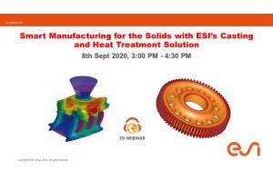Smart Manufacturing for the Solids with ESI's Casting and Heat Treatment Solution