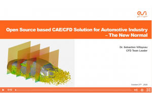 Open Source based CAE-CFD Solution for Automotive Industry