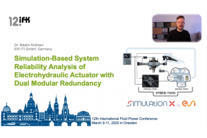 Simulation-Based System Reliability Analysis of Electrohydraulic Actuator with Dual Modular Redundancy