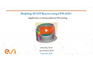 Modeling 3D ICP Plasma