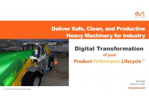オンデマンドセミナー:Deliver Safe, Clean & Productive Machinery