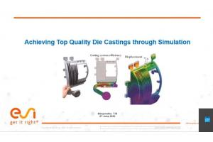 Achieving Top Quality Die Castings through Simulation