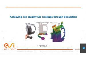 Achieving Top Quality Die Castings through Simulation