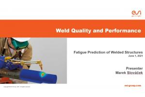 Fatigue Prediction of Welded Structures