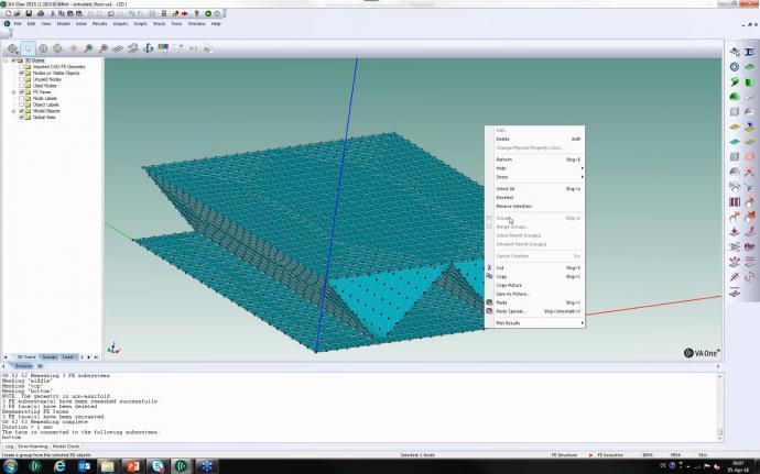 How do I model complex floating floor configurations
