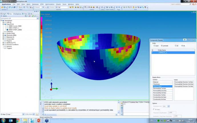 PAM-COMPOSITES 2016.0: What's new for Liquid Composite Molding Simulation?
