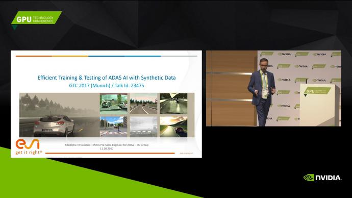 Efficient Training & Testing of ADAS AI with synthetic data