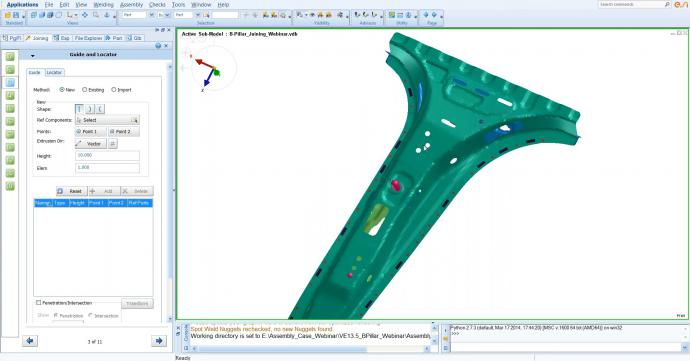 Distortion Control of Car Body Manufacturing using Virtual Welding & Assembly