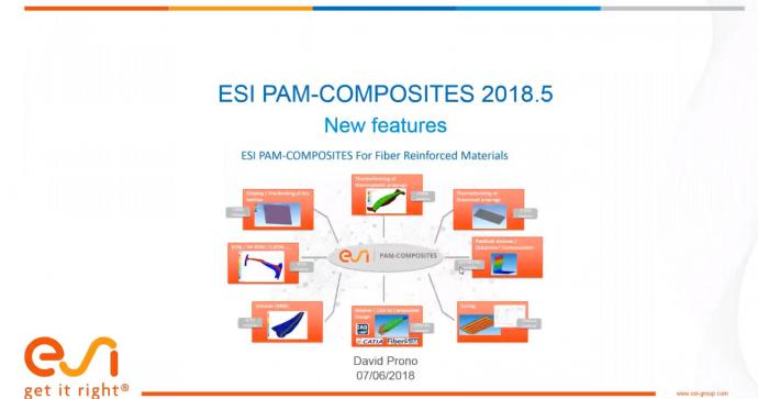PAM-COMPOSITES 2018.5: What's new ?