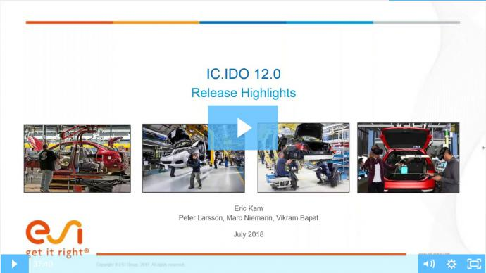 IC.IDO 12.0 Release Features Webinar