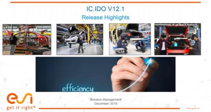 IC.IDO 12.1 Release Features Webinar