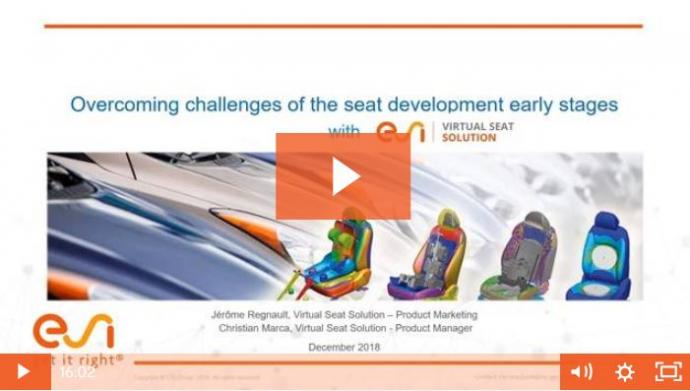 Overcoming Challenges in the Seat Development from early stages