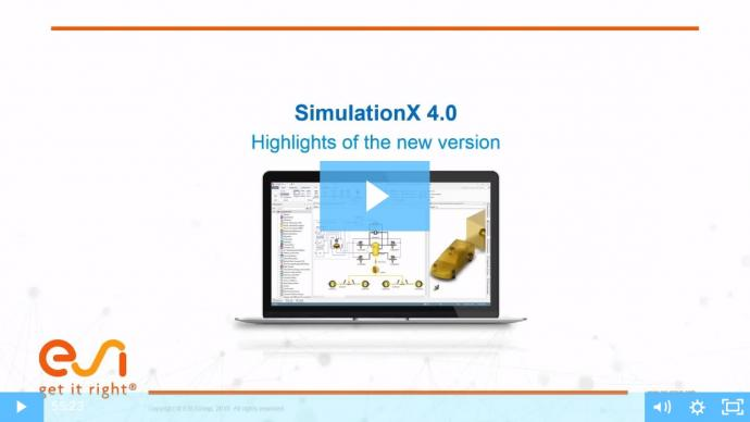 SimulationX 4.0 Release Highlights Webinar