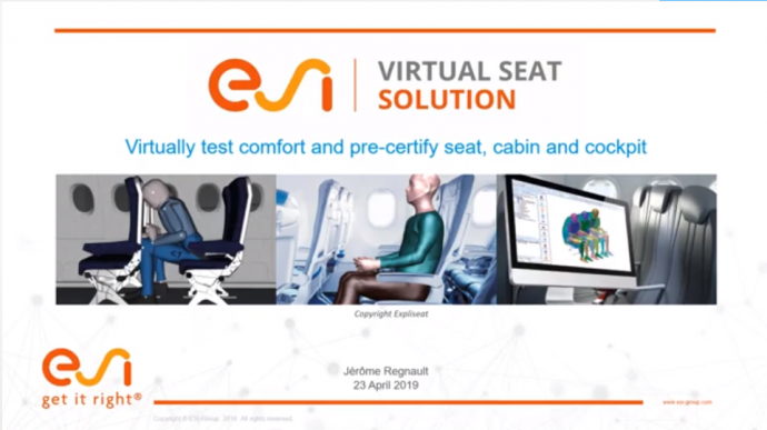 Ensuring the Pre-Certification of Seats and Cabin while delivering optimal comfort