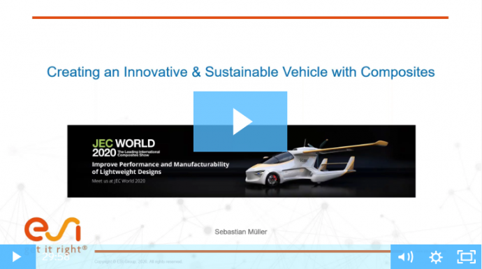 Creating an Innovative & Sustainable Vehicle with Composites