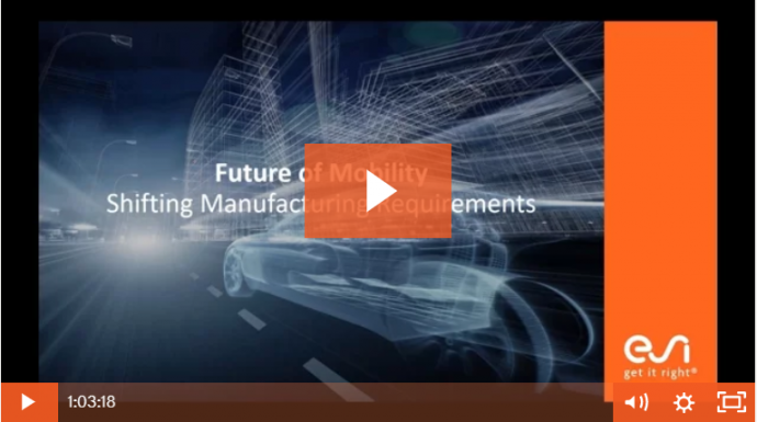 The Future of Mobility and Shifting Manufacturing Requirements