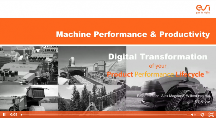 Heavy Industry - Machine Performance & Productivity